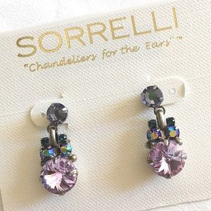Sorrelli Earrings New! Purple, Lavender